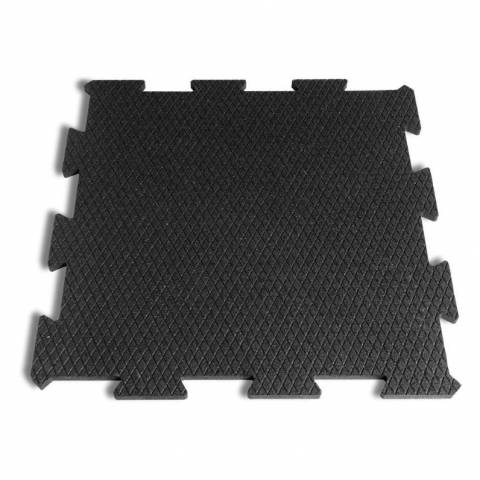 Interblocking Rubber Tiles